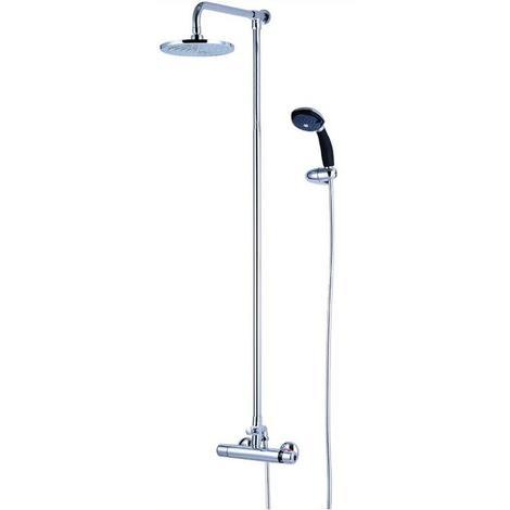 Thermostatic Temperature Controlled Modern Shower Fixed & HandHeld Heads (SH052)