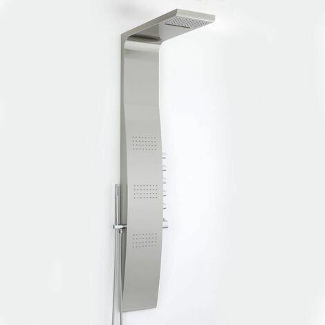 Thermostatisches Duschpaneel aus Edelstahl - Surface