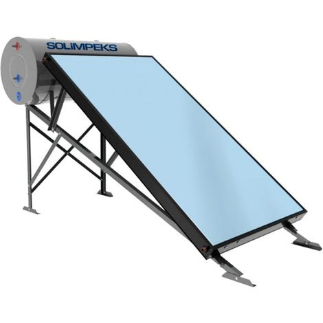 Thermosyphon Solaranlage Komplettsystem 200l