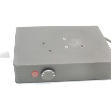 Thermoventilateur résistance chauffante 350W 230V noire pour coffret electrique raccordement bornier SCHNEIDER NSYCR350W230VTVC