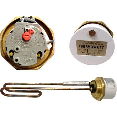 """Thermowatt - Mod 143 14"""" 3kW Immersion Heater 60002827"""