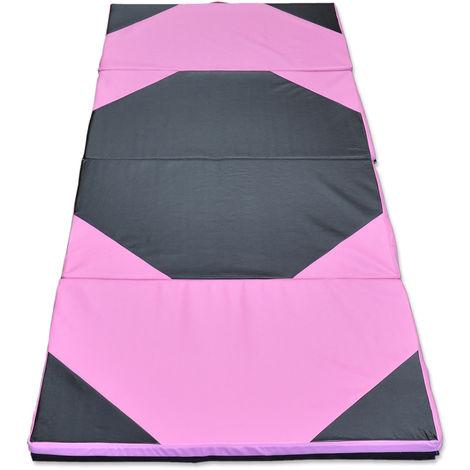 Thick Panel Folding Gymnastics Mat Gym Fitness Yoga Exercise Pad