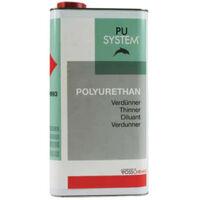 Thinner PU varnish G4 and G8 Vosschemie 5L