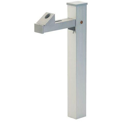 THIRARD - Arrêt de portail vertical aluminium anodisé