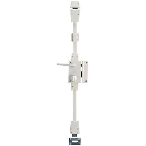 Thirard - Boîtier de serrure TARGA CP Blanche à fouillot 75 x 130 mm Droite