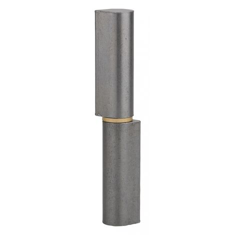 THIRARD - Charnière de Porte d'entrée à souder, acier, 140mm, bague laiton