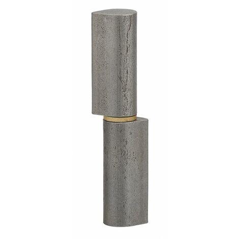 THIRARD - Charnière de Porte d'entrée à souder, acier, acier, 60mm, bague laiton