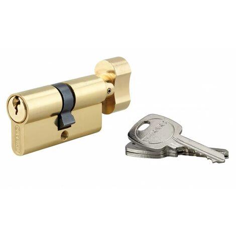 THIRARD - Cylindre à bouton 30 x 30 mm 3 clés