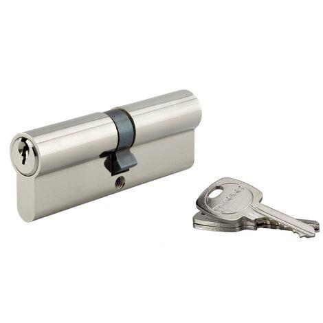 Thirard - Cylindre de serrure Standard 45X45 nicklé 3CL