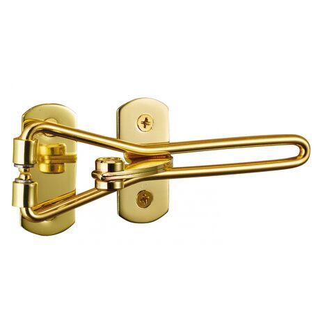 Thirard - Entrebâilleur de porte doré - sécurité supplémentaire