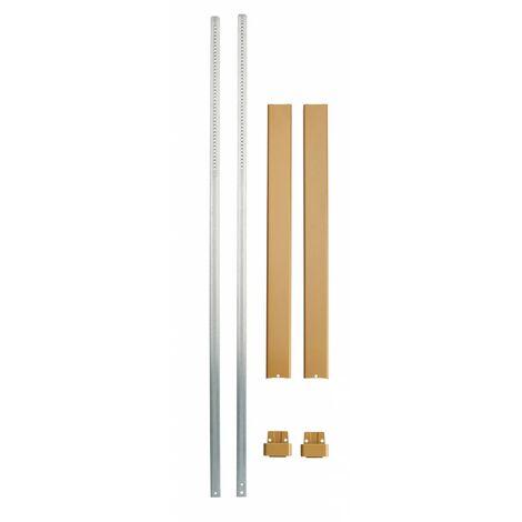 """main image of """"THIRARD - Kit tringle plate bronze pour hauteur porte 3,00 m"""""""