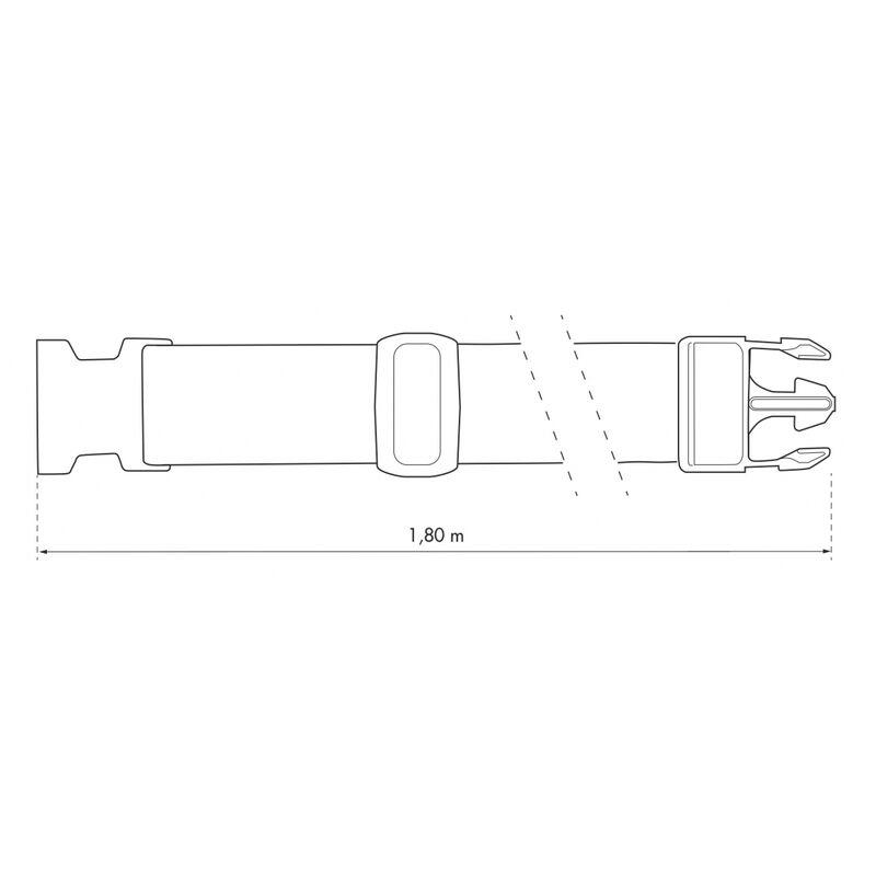 hugttt Lot de 3 Paires de Sangles universelles pour p/édales de v/élo pour Spinning Exercice /à la Maison ou /à la Salle de Sport 2,2 x 33 cm