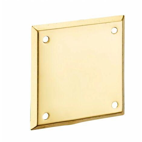 """main image of """"THIRARD - Plaque de propreté laiton 60 x 60"""""""