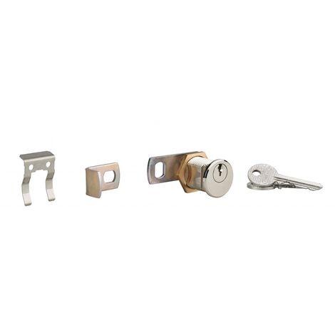 Thirard - Serrure boite aux lettres laiton chromée 3 clés