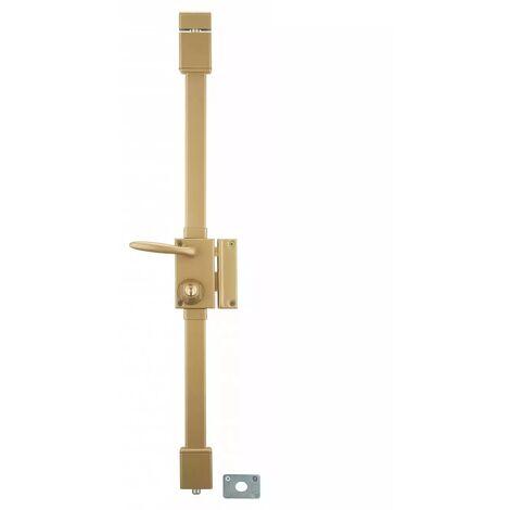 THIRARD - Serrure bronze CR à˜ 23 6 goup. à fouillot 75 x 130 mm droite 4 clà©s