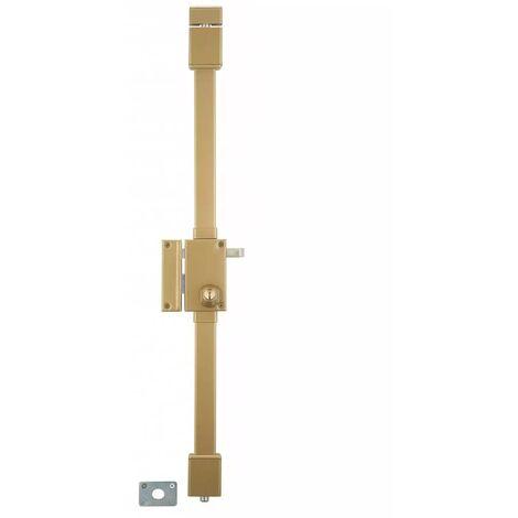 THIRARD - Serrure bronze CR à˜ 23 6 goup. à tirage 75 x 130 mm gauche 4 clà©s