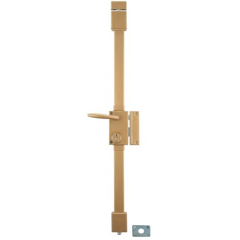 Thirard - Serrure TARGA blanche CP 5 goupilles à tirage 75 x 130 mm gauche avec 4 clés