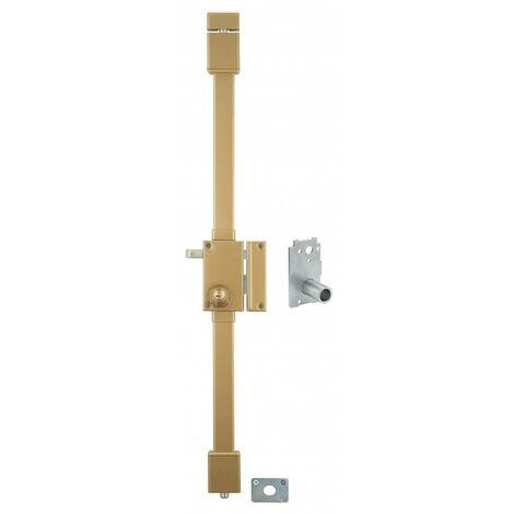 THIRARD - Serrure VERTI bronze CR 23 Transit 2 à tirage 75 x 130 drte 4 clés