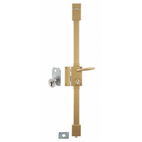 THIRARD - targa bronze cp transit 2 à fouillot 75 x 130 mm gauche 4 clés
