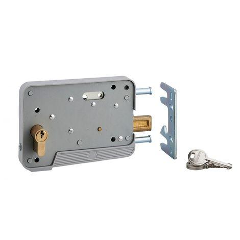 THIRARD - THIRARD - SERRURE DE SURETE cyl. 30x10 3 clés réver. pour porte bois ou PVC