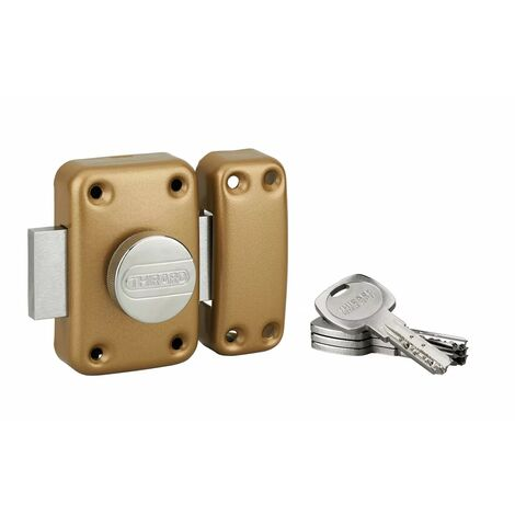 THIRARD - TRANSIT 2 à bouton et cylindre 60 mm