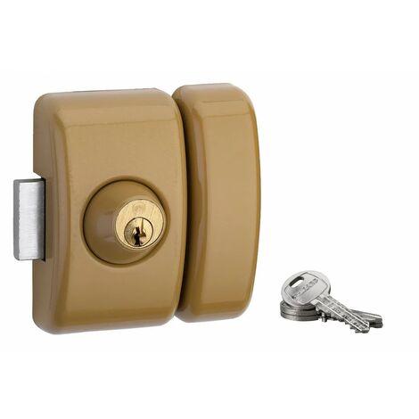 THIRARD - UNIVERSEL 5 goup. 45 mm bronze 3 clés