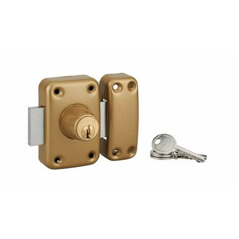 THIRARD - Verrou CAPITAL à cylindre double 40 mm 3 clés