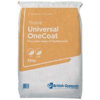 Thistle Universal One Coat Plaster 25kg)