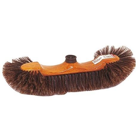 THOMAS - Balai 1/2 tête intérieur - brosse en soie de Chine marron S/63