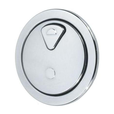 Thomas Dudley 73.5Mm Round Vantage Dual Flush Round Push Button 327732