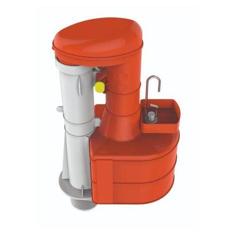 Thomas Dudley Turbo 44 9 inch Syphon Duoflush for Narrow Cisterns