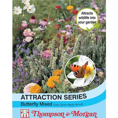 Thompson & Morgan - Flowers - Attraction Series Butterfly Mixed - 1 Gram