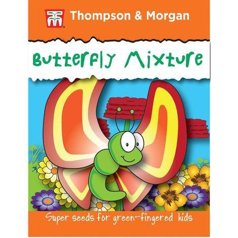 Thompson & Morgan - Flowers - RHS Kids - Butterfly Mix - 1 Gram