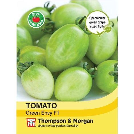 Thompson & Morgan - Vegetables - Tomato Green Envy F1 Hybrid - 8 Seed