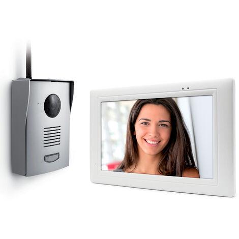 Thomson visiophone sans fil - IZZY-768W - 300m portée Visiophone - Visiophone