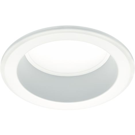 Thorn Eco AY2000Z3K Amy White Circular Aluminium Recessed LED Commercial Downlight With Warm White LEDs