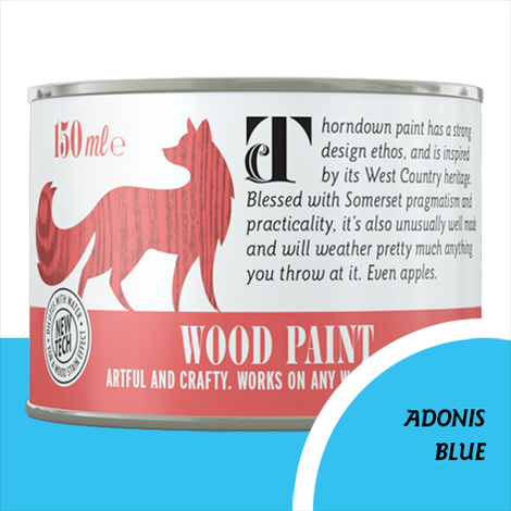 Thorndown Adonis Blue Wood Paint