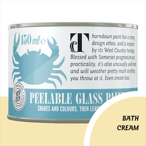 Thorndown Bath Cream Peelable Glass Paint