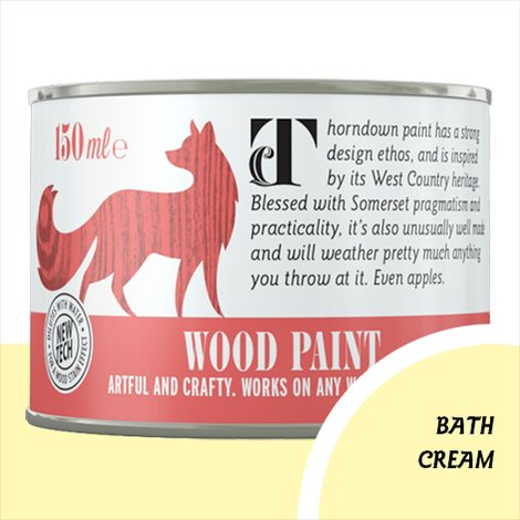 Thorndown Bath Cream Wood Paint