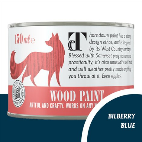 Thorndown Bilberry Blue Wood Paint