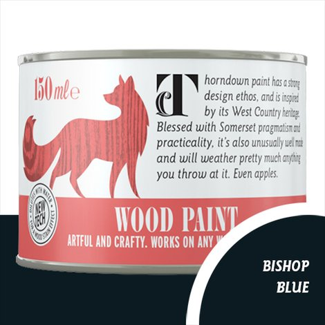 Thorndown Bishop Blue Wood Paint