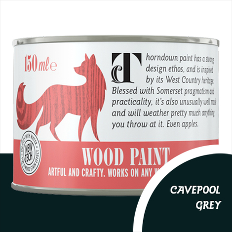 Thorndown Cavepool Grey Wood Paint