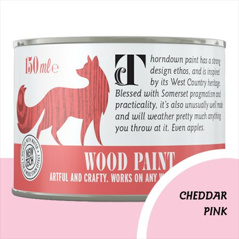 Thorndown Cheddar Pink Wood Paint