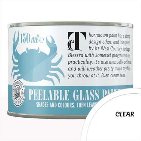 Thorndown Clear Peelable Glass Paint