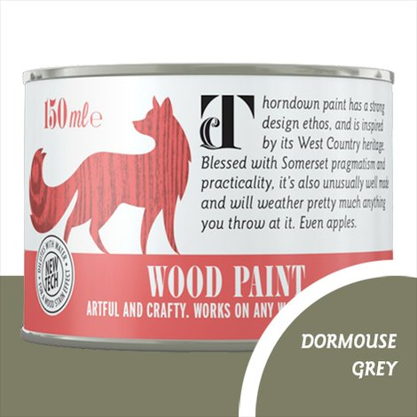 Thorndown Dormouse Grey Wood Paint