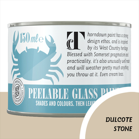 Thorndown Dulcote Stone Peelable Glass Paint