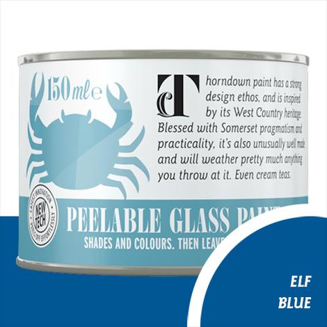 Thorndown Elf Blue Peelable Glass Paint