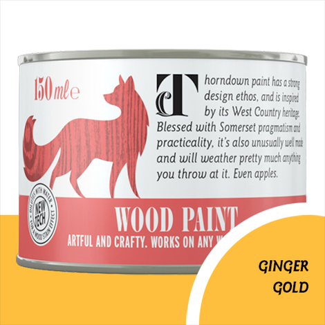 Thorndown Ginger Gold Wood Paint