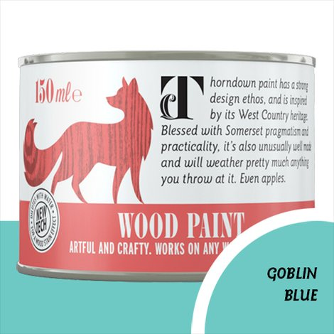 Thorndown Goblin Blue Wood Paint