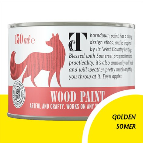 Thorndown Golden Somer Wood Paint